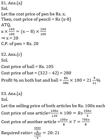 Quantitative Aptitude Quiz for Prelims Exams- SBI & IBPS 2020- 30th November_70.1