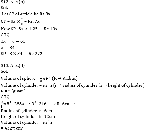 Quantitative Aptitude Quiz for Prelims Exams- SBI & IBPS 2020- 30th November_110.1
