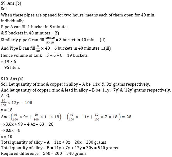 Quantitative Aptitude Quiz for IBPS 2020 Mains Exams- 30th November_100.1