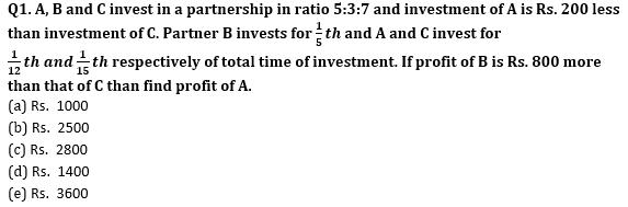 Quantitative Aptitude Quiz for Prelims Exams- SBI & IBPS 2020- 17th December_50.1