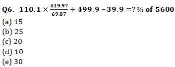 Quantitative Aptitude Quiz for Prelims Exams- SBI & IBPS 2021- 3rd January_50.1