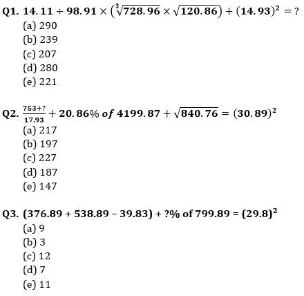 Quantitative Aptitude Quiz for Prelims Exams- SBI & IBPS 2021- 6th January_50.1