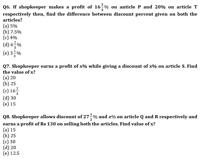 Quantitative Aptitude Quiz For Bank Mains Exams 2021- 7th January_110.1