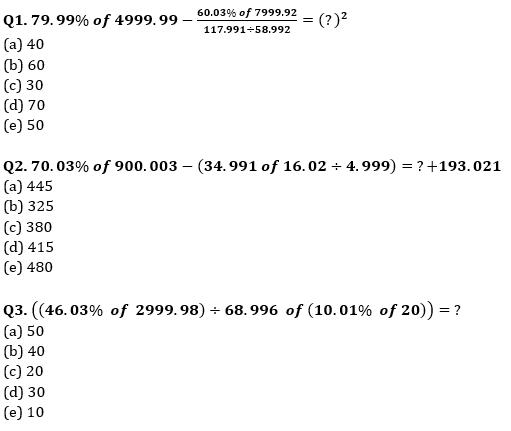Quantitative Aptitude Quiz For Bank Mains Exams 2021- 8th January_50.1