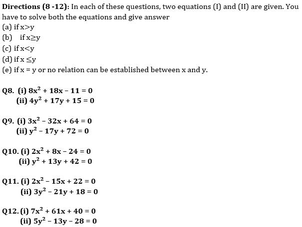 Quantitative Aptitude Quiz For Bank Mains Exams 2021- 9th January_50.1