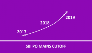 SBI PO Mains Cut off 2021- Check Previous Years SBI cut-offs and Trend Analysis_80.1