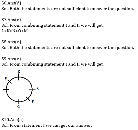 Reasoning Ability Quiz For Bank Mains Exams 2021- 9th January_60.1