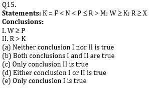 Reasoning Ability Quiz For ECGC PO 2021- 13th January_70.1