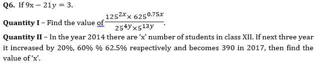 Quantitative Aptitude Quiz For Bank Mains Exams 2021- 24th January_60.1