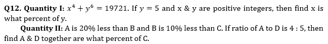 Quantitative Aptitude Quiz For Bank Mains Exams 2021- 24th January_80.1