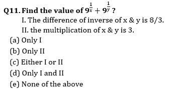 Quantitative Aptitude Quiz For Bank Mains Exams 2021- 25th January_80.1