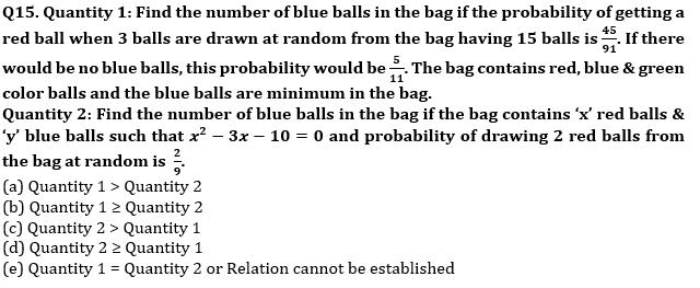 Quantitative Aptitude Quiz For Bank Mains Exams 2021- 27th January_100.1