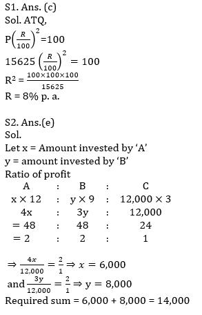 Quantitative Aptitude Quiz For SBI PO, Clerk Prelims 2021- 30th April_60.1