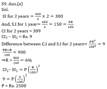 Quantitative Aptitude Quiz For SBI PO, Clerk Prelims 2021- 30th April_100.1