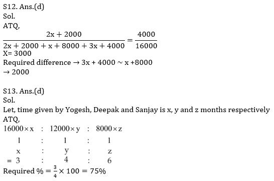 Quantitative Aptitude Quiz For SBI PO, Clerk Prelims 2021- 30th April_120.1
