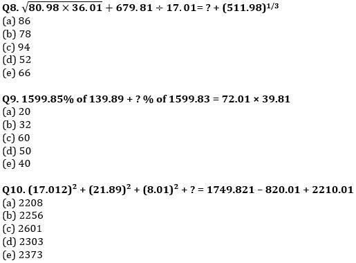 Quantitative Aptitude Quiz For IBPS RRB PO, Clerk Prelims 2021- 4th June_70.1