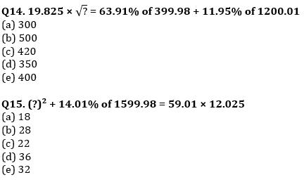 Quantitative Aptitude Quiz For IBPS RRB PO, Clerk Prelims 2021- 4th June_90.1