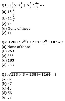 Quantitative Aptitude Quiz For SBI Clerk Prelims 2021- 5th June_50.1