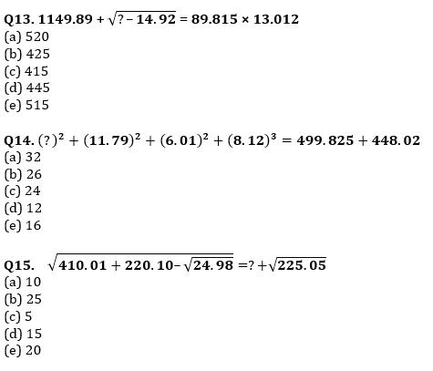 Quantitative Aptitude Quiz For IBPS RRB PO, Clerk Prelims 2021- 6th June_50.1