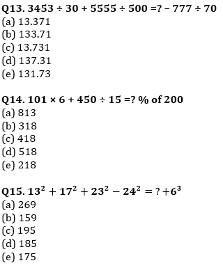 Quantitative Aptitude Quiz For IBPS RRB PO, Clerk Prelims 2021- 9th June_80.1