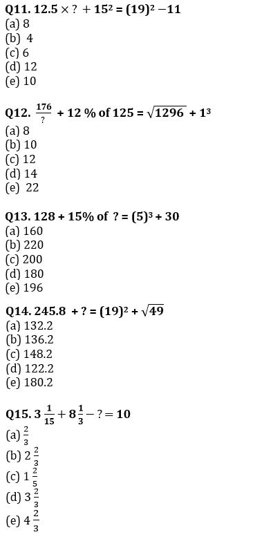Quantitative Aptitude Quiz For SBI Clerk Prelims 2021- 9th June_80.1