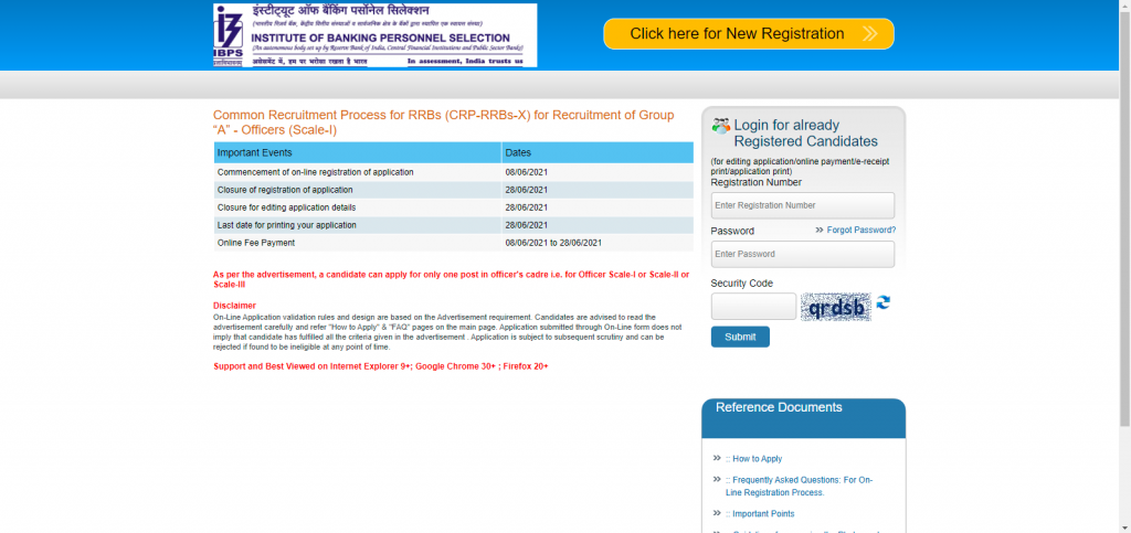 IBPS RRB Form Fill Up 2021: How to Fill Application Form for IBPS RRB Exam 2021_60.1