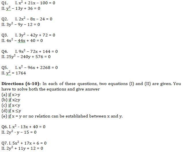Quantitative Aptitude Quiz For IBPS RRB PO, Clerk Prelims 2021- 11th June_50.1