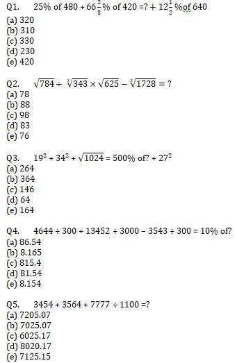 Quantitative Aptitude Quiz For IBPS RRB PO, Clerk Prelims 2021- 12th June_50.1