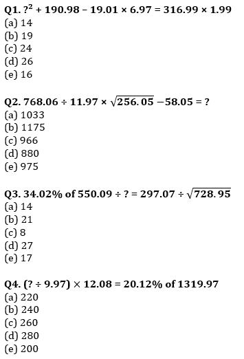 Quantitative Aptitude Quiz For IBPS RRB PO, Clerk Prelims 2021- 14th June_50.1