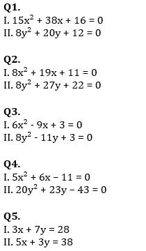 Quantitative Aptitude Quiz For SBI PO, Clerk Prelims 2021- 14th June_50.1