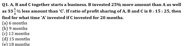 Quantitative Aptitude Quiz For SBI PO, Clerk Prelims 2021- 18th June_50.1