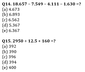 Quantitative Aptitude Quiz For SBI PO, Clerk Prelims 2021- 23rd June_90.1
