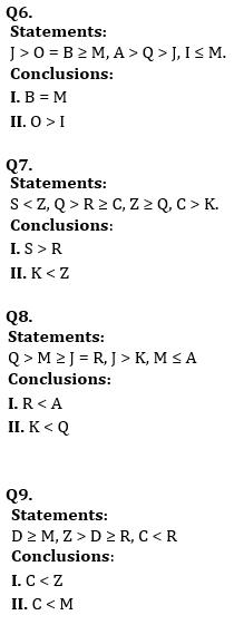 Reasoning Ability, Quiz For SBI PO, Clerk Prelims 2021- 25th June_80.1