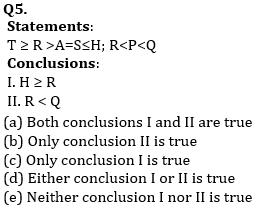 Reasoning Ability, Quiz For SBI PO, Clerk Prelims 2021- 25th June_70.1