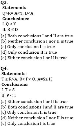 Reasoning Ability, Quiz For SBI PO, Clerk Prelims 2021- 25th June_60.1