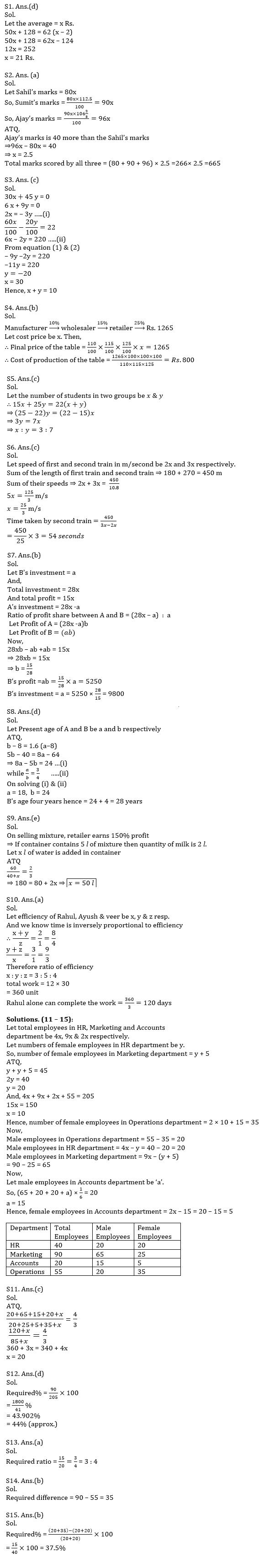 Quantitative Aptitude Quiz For IBPS RRB PO, Clerk Prelims 2021- 26th June_50.1
