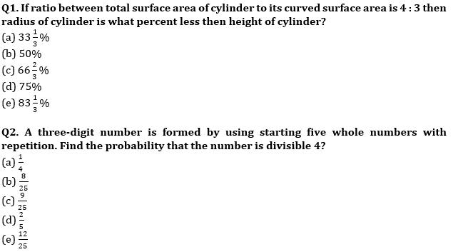 Quantitative Aptitude Quiz For IBPS RRB PO, Clerk Prelims 2021- 28th June_50.1