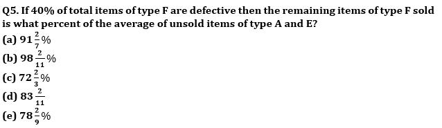 Quantitative Aptitude Quiz For SBI PO, Clerk Prelims 2021- 28th June_60.1