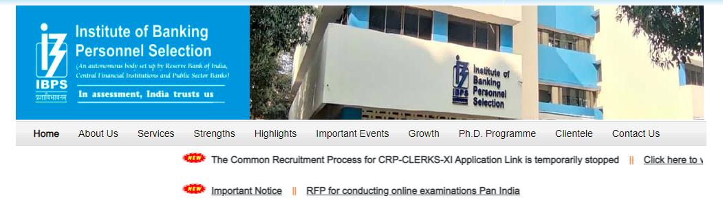 Finance Ministry puts on hold IBPS Clerk Exam in lieu of Regional Language | प्रादेशिक भाषांमुळे अर्थ मंत्रालयाने IBPS Clerk परीक्षेचे नोंदणी तात्पुरती थांबवली_50.1
