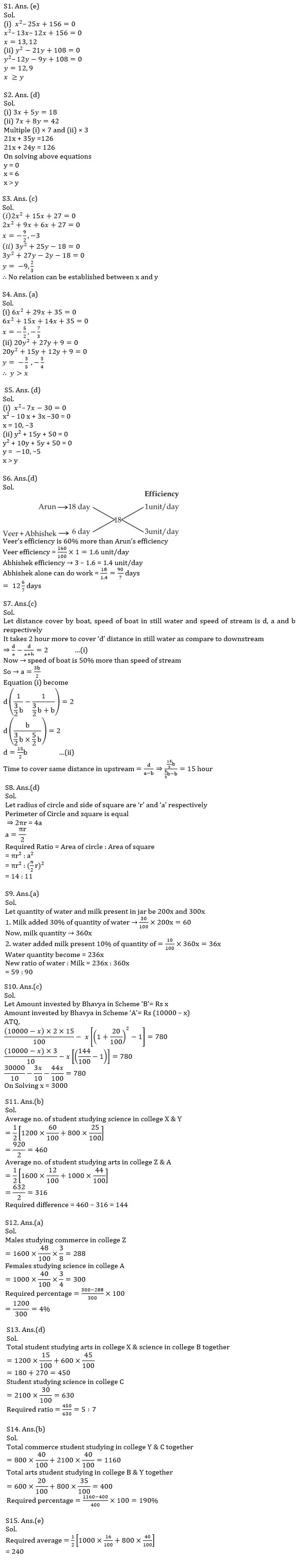 Quantitative Aptitude Quiz For IBPS RRB PO, Clerk Prelims 2021- 24th July_80.1