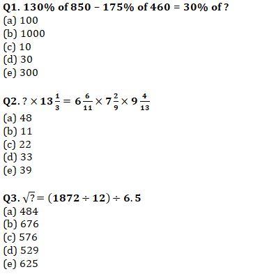Quantitative Aptitude Quiz For IBPS Clerk Prelims 2021- 31th July_60.1