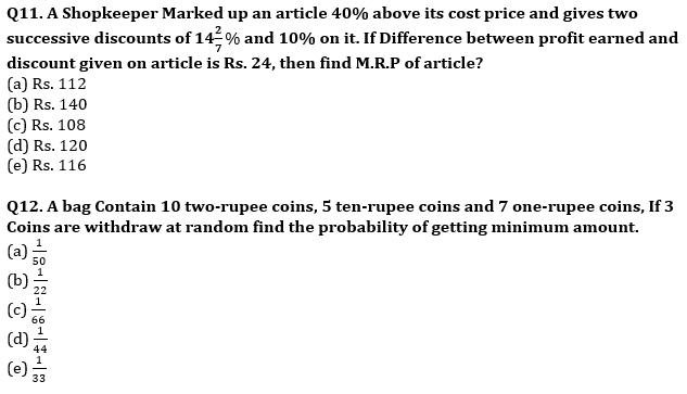 Quantitative Aptitude Quiz For IBPS RRB PO, Clerk Prelims 2021- 2nd August_90.1