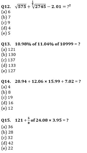 Quantitative Aptitude Quiz For IBPS RRB PO, Clerk Prelims 2021- 3rd August_90.1