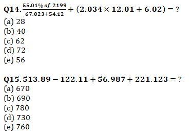 Quantitative Aptitude Quiz For IBPS RRB PO, Clerk Prelims 2021- 8th August_80.1