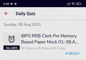 IBPS RRB CLERK PRELIMS 2021   MEMORY BASED MOCK is LIVE NOW   Attempt for Free on Adda247 App_70.1