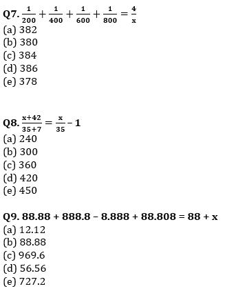 Quantitative Aptitude Quiz For IBPS RRB PO, Clerk Prelims 2021- 11th August_80.1