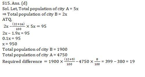 Quantitative Aptitude Quiz For SBI Clerk Mains 2021- 12th August_120.1