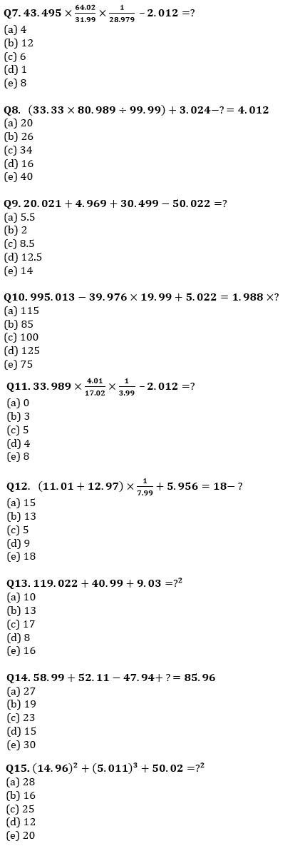 Quantitative Aptitude Quiz For IBPS Clerk Prelims 2021- 14th August_70.1