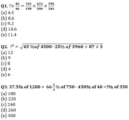 Quantitative Aptitude Quiz For IBPS Clerk Prelims 2021- 17th August_50.1
