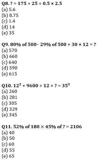 Quantitative Aptitude Quiz For IBPS Clerk Prelims 2021- 17th August_70.1